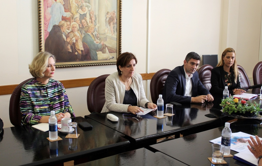 """Gradonačelnik s pomoćnikom ministrice kulture o definiranju """"buffer"""" zone"""